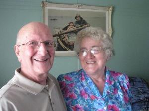 Everett Moore and Beulah Morgan