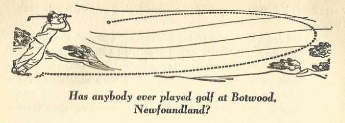 Golfing in Botwood